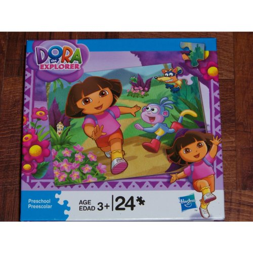 Cheap Hasbro Dora the Explorer 24 Piece Jigsaw Puzzle (Assembled Size: 10 X 13″) (B003IXORGE)