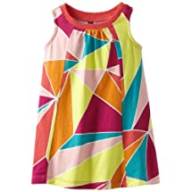 Tea Collection Baby-girls Infant Bo Kaap Trapeze Mini Dress, Fruit Punch, 6-12 Months