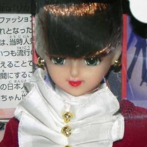 타카라 토미 제니 인형 캘린더 걸 일본 문화사 THE 유행 8월:리카짱 드레스 인형-