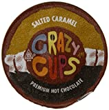 Crazy Cups Premium Hot Chocolate, Salted Caramel, 22 Count
