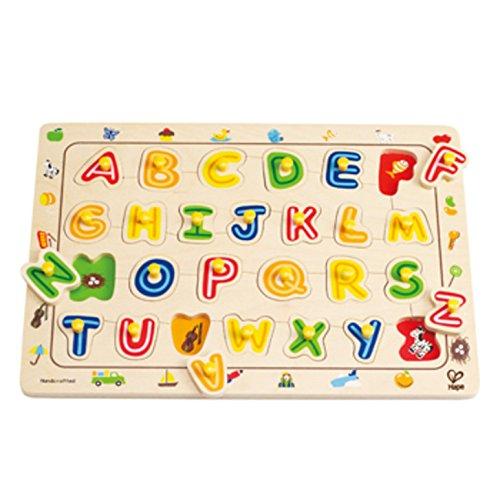 Hape - ABC Matching Peg Puzzle