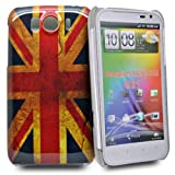 Accessory Master Mobile Phone Case Plastic for HTC Sensation Union Jack