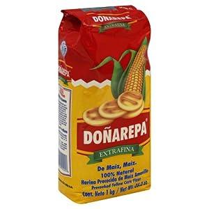 Amazon.com : Dona Arepa Extrafina Yellow Corn Flour : Corn