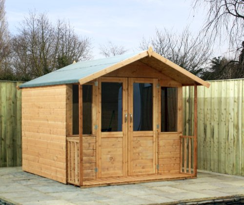 OXFORD: 7FT x 8FT DEVON SUMMERHOUSE