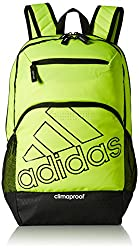 adidas Rumble Backpack, Solar Yellow Black, One Size