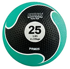 Buy Champion Sports Rhino Elite Medicine Ball (25-Pounds) by Champion Sports