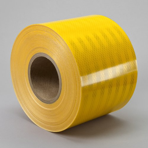 Heavy Duty Reflective Tape : M yellow reflective tape quot width in length