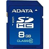 【Amazonの商品情報へ】ADATA microSD 8GB Class10 永久保証 ASDH8GCL10-R