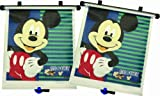 Disney Baby - Car Sunshades - Mickey Mouse Adjust & Lock - 2 Pack