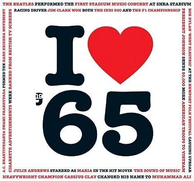 1965 Geburtstag Geschenken - 1965 CD und 1965 I Heart Grußkarten