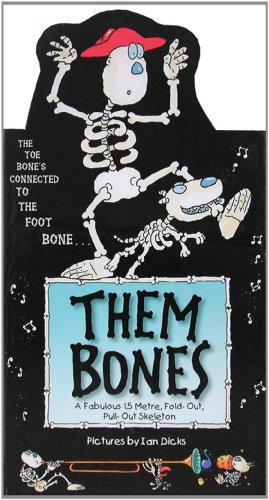 Them Bones: Metre High 3D Wall Poster Book