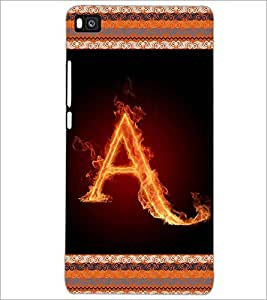 PrintDhaba GRANDbet A D-2527 Back Case Cover for HUAWEI P8 (Multi-Coloured)