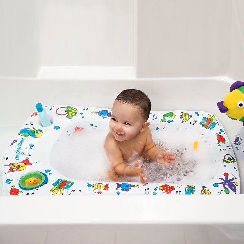 One Step Ahead Secure Transitions Inflatable Baby Tub