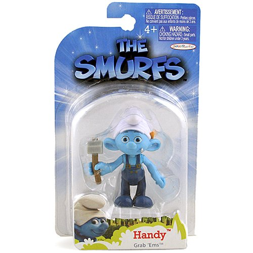 The Smurfs Movie Grab Ems Mini Figure Handy - 1