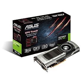 ASUSTek�А� NVIDIA GeForce GTX 780 GPU���ڃr�f�I�J�[�h GTX780-3GD5