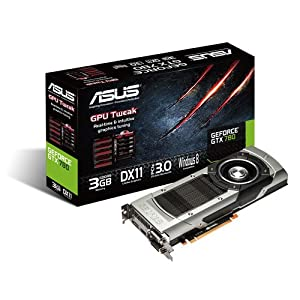 ASUSTek社製 NVIDIA GeForce GTX 780 GPU搭載ビデオカード GTX780-3GD5