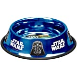 Platinum Pets Star Wars 48 Ounce Embossed Non-Tip Bowl with Darth Vader Design