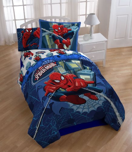 Marvel Spider Man Astonish Comforter Set, Full