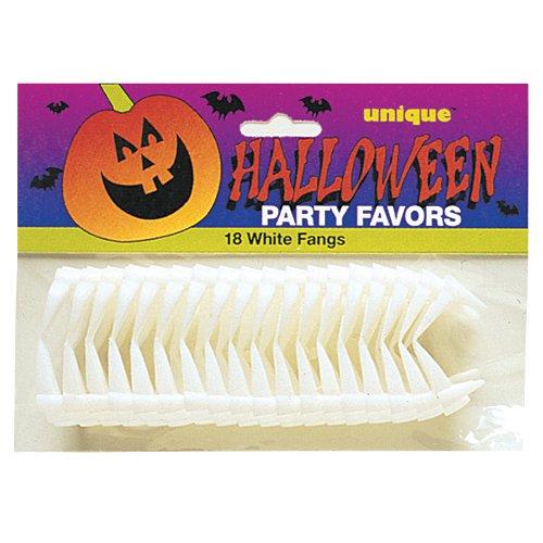 Plastic Vampire Teeth Halloween Party Favors, 18ct