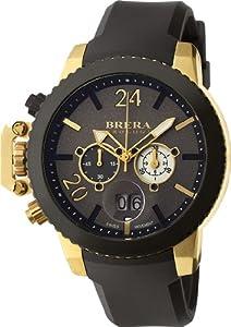 Brera Orologi - Militare - Black / Yellow Gold IP - BRML2C4802