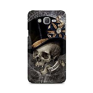 Mobicture Skull Art Premium Printed Case For Samsung J3