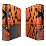 MightySkins Protective Vinyl Skin Decal for Microsoft Xbox 360E (3rd Gen) cover wrap skins sticker Basketball