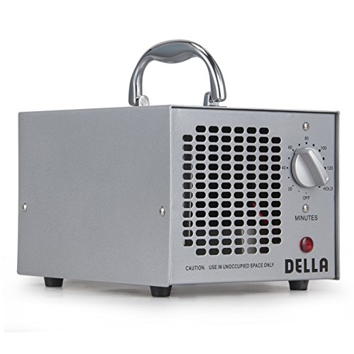 DELLA 048-GM-48252 Commercial Style Air Ozone Generator 3,500MG Purifier Industrial O3 Deodorizer Sterilizer, Silver (Cigar Smoke Air Filter compare prices)