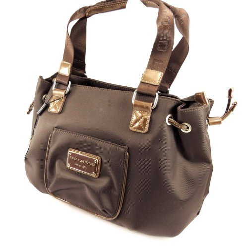 'french touch' bag 'Ted Lapidus' brown.