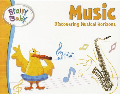 Brainy Baby Music Board Book - 1