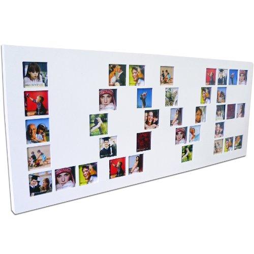 edler holz bilderrahmen love weiss f r 37 fotos rahmen ean 4029811295715. Black Bedroom Furniture Sets. Home Design Ideas
