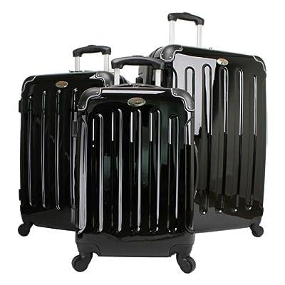 Swiss Case 4 Wheel 3 Pc Hard Suitcase Set from Swiss Case