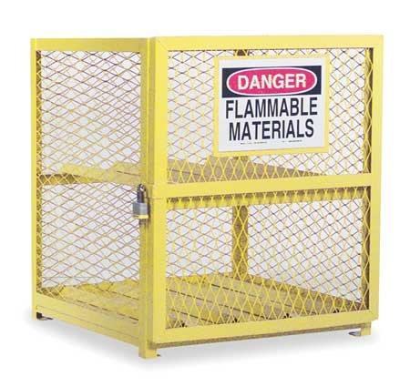 Durham Steel/Iron Horizontal Cylinder Storage Cabinet, EGCC4-50,  4 Cylinder Capacity,  30