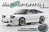 日産 180SXエアロレディセット ホワイト 京商 32135W 1/27 R/C電動ミニッツ FHS2.4GHz MA-020Sスポーツ