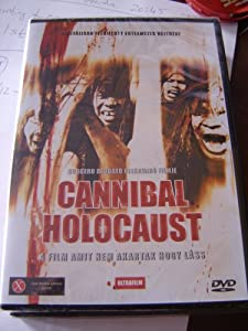 Cover of &quot;Cannibal Holocaust Region 2 DVD...