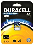 Duracell Class 10.200x ProPhoto SDHC Memory Card - 8 GB