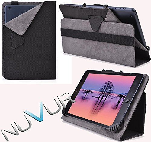 Ajustable Stand Case Cover Allview Viva Q7 Life  Black  Nuvur ™  Mu08Egk1 