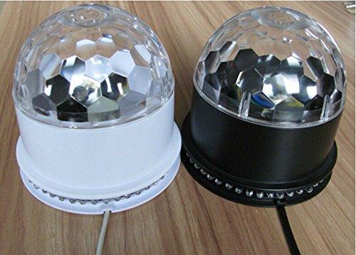 Hossen® Mini Mp3 Dj Club Pub Crystal Magic Ball Stage 6W Rgb Light Led Stage Lighting Remote Control Portable Speaker Blue