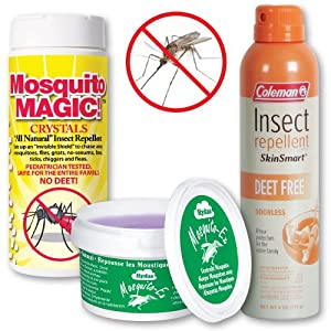 Mosquito Protection Pack Deet Free