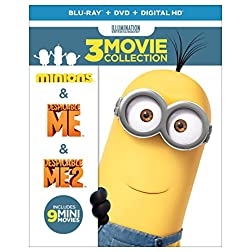 Despicable Me 3-Movie Collection [Blu-ray]