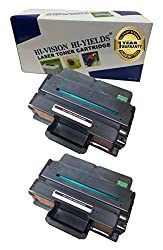 HI-VISION ® Compatible Dell B2375, 593-BBBJ, 8PTH4 (2 Pack) Black 10,000 Page Yield Toner Cartridge Replacement for B2375dnf, B2375dfw Multifunction Printers