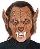Werewolf 3/4 Scary Beast Monster Horror Latex Adult Halloween Costume Mask