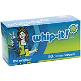 Whip-It! Whipped Cream Chargers, 50-Pack