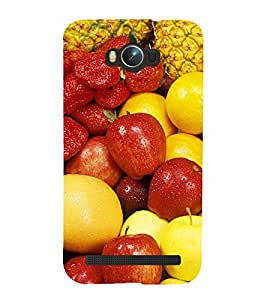 99Sublimation Fruits Every where 3D Hard Polycarbonate Back Case Cover for Asus Zenfone Max ZC550KL :: 2016 :: 6A076IN