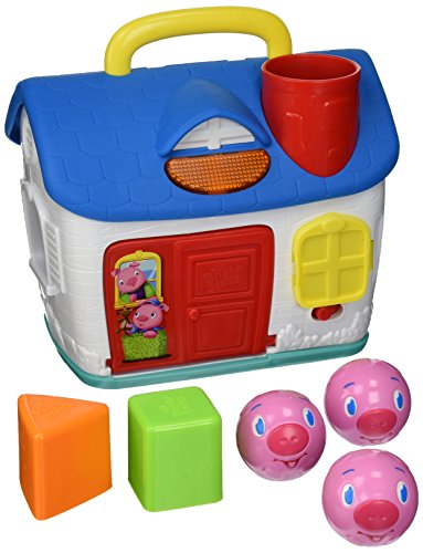 Bright Starts Baby Toy, 3 Lil Piggies Play House - 1