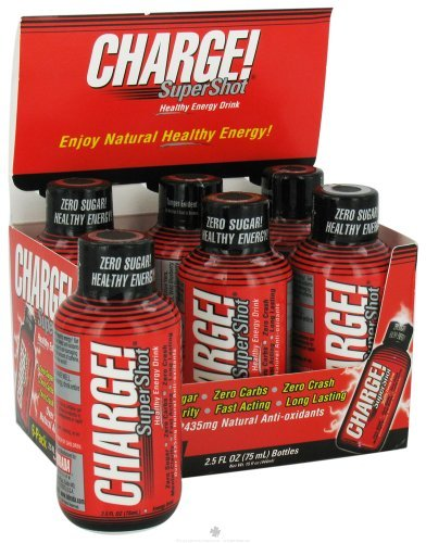 Labrada, Energy Charge Super Shot, 2-Fluid Ounce (6 Pack) (Super Charge Energy compare prices)