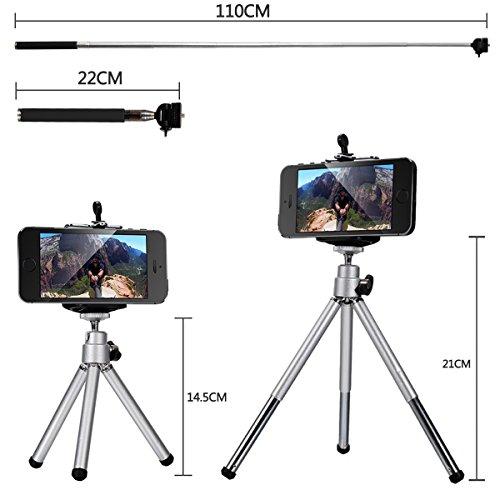 10 in 1 Mini Lens Kit 8 x Telephoto Lens + Fish Eye Lens ...