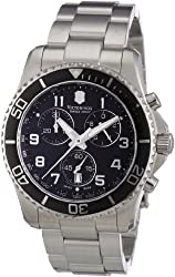 Victorinox Swiss Army Men's 241432 Maverick GS Stainless Steel Chronograph Watch