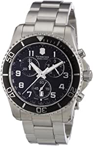 Victorinox Swiss Army Men's 241432 Maverick GS Black Chronograph Dial Watch