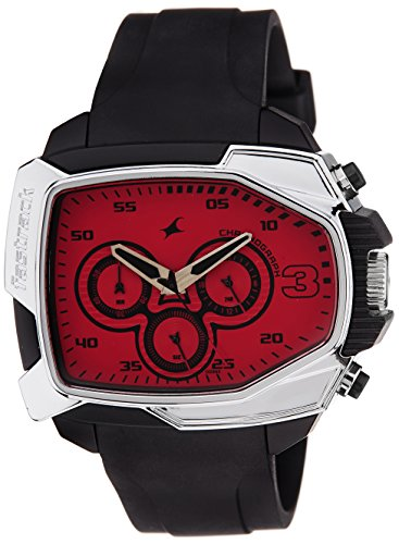 Fastrack-Chronograph-Red-Dial-Mens-Watch-38005PP03