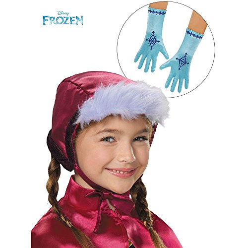 Disguise Anna Bonnet & Gloves Costume